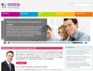 IEBS se presenta en sociedad ante los medios - IEBS web 300x231