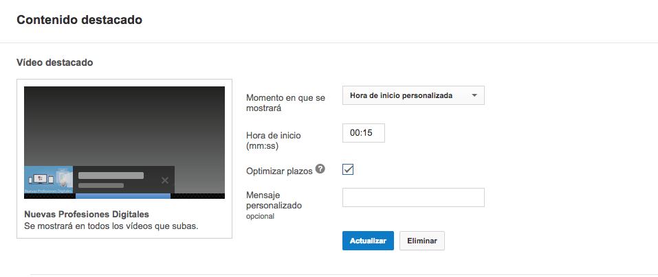 Guía para optimizar tus vídeos de Youtube - video destacado para ompimizar youtube