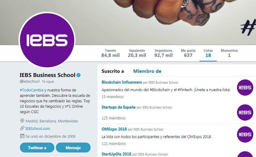 Twitter para principiantes: completa guía para iniciarte en la red social - listas