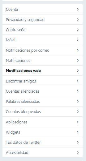Twitter para principiantes: completa guía para iniciarte en la red social - notificaciones
