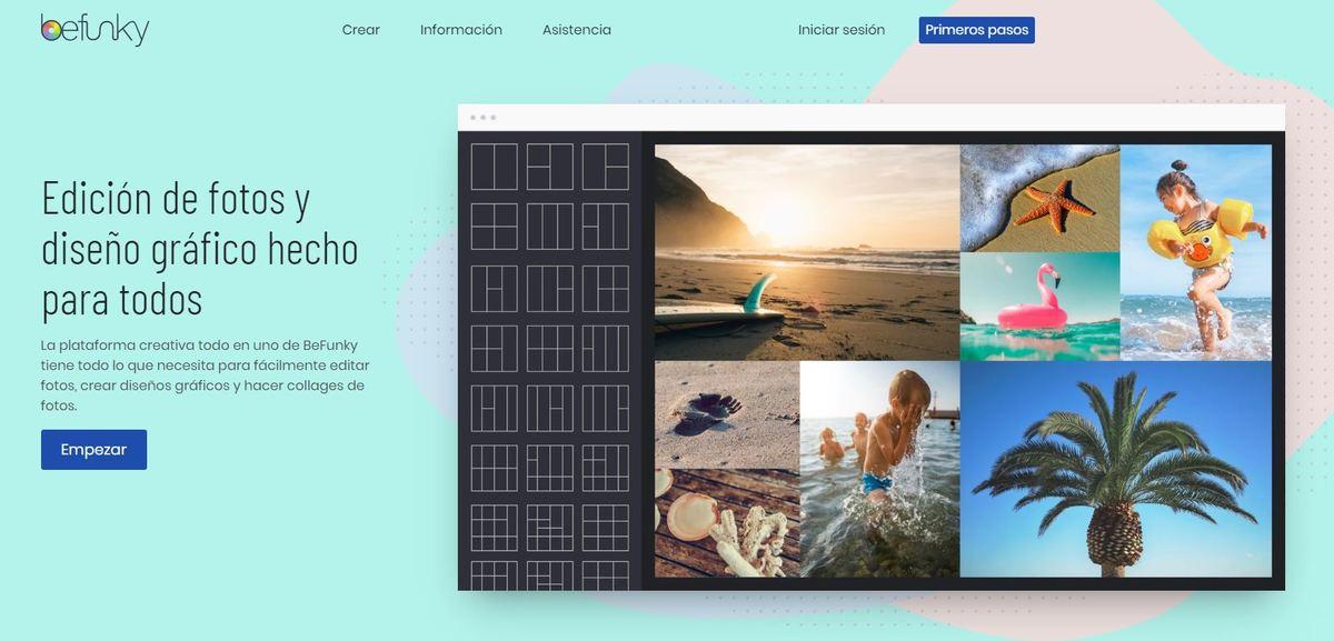 5 Herramientas de edición de imágenes para redes sociales - befunky editor imagenes