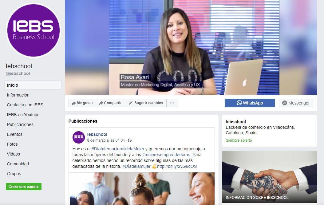 5 Herramientas de edición de imágenes para redes sociales - iebs facebook portada 1