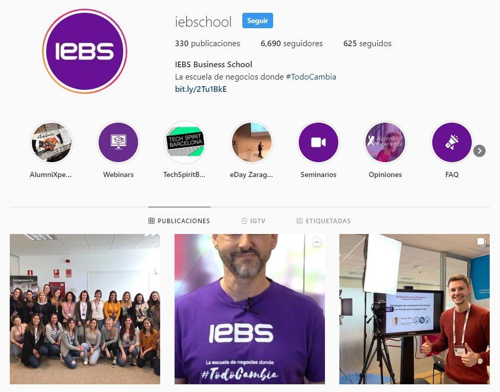 5 Herramientas de edición de imágenes para redes sociales - iebs instagram portada