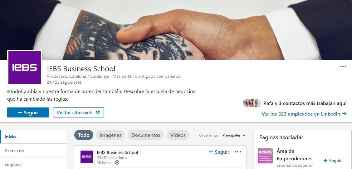 5 Herramientas de edición de imágenes para redes sociales - iebs linkedin portada