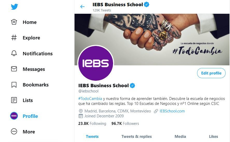 5 Herramientas de edición de imágenes para redes sociales - iebs twitter portada