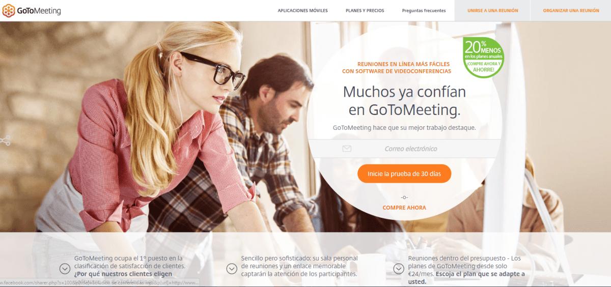 Mejores Herramientas de Inbound Marketing Gratis y de pago - GoToMeeting