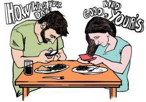 ¿Puedes vivir sin tu smartphone o sufres de adicción al móvil? - mobile addicted people 300x210