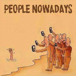 ¿Puedes vivir sin tu smartphone o sufres de adicción al móvil? - smartphone addiction funny sad images 18 300x300