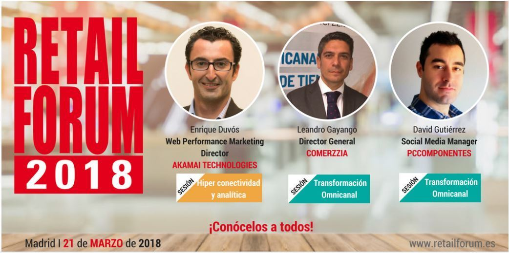 Retail Forum 2018: 20 CEOS hablan sobre el futuro del Retail - Ponentes forum retail