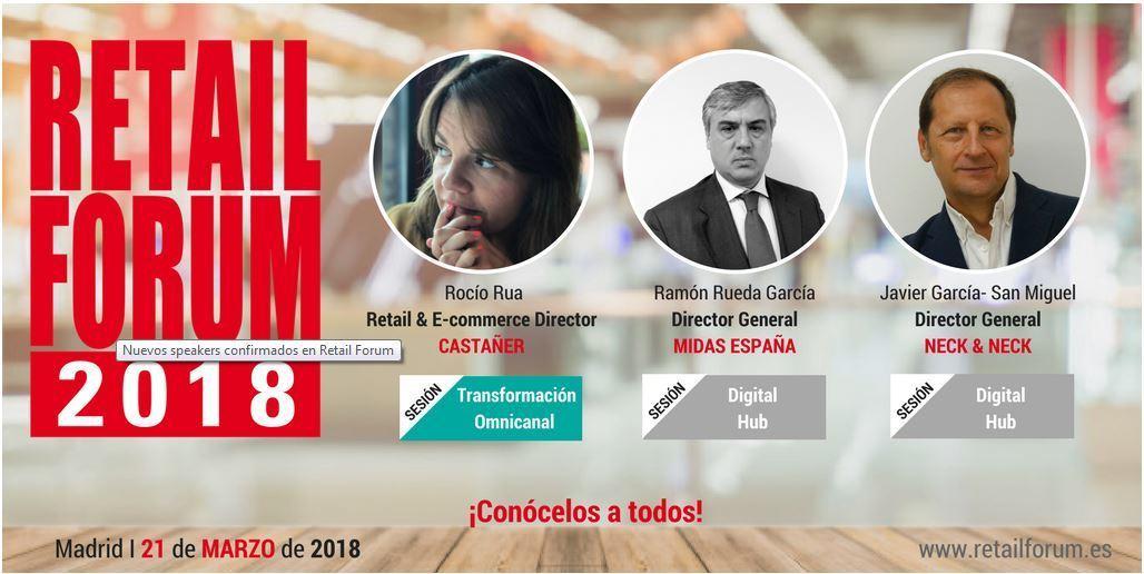 Retail Forum 2018: 20 CEOS hablan sobre el futuro del Retail - algunos ponentes forum retail
