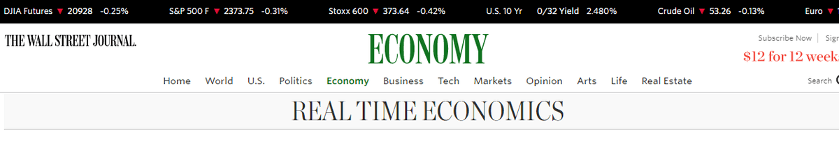 Los 10 mejores blogs de economía que no te puedes perder - The Real Time Economics