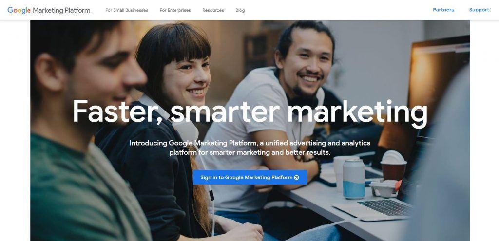 Google Marketing y Google Attribution: herramientas para los profesionales del marketing - Google Marketing platform 1024x495