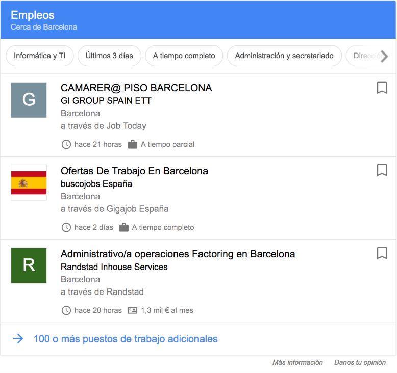 Google Hire o Google for Jobs: la nueva plataforma de empleo de Google - Google Hire