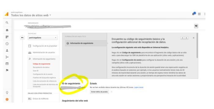 ¿Cómo dar de alta en Google Analytics una web? - datos Analytics