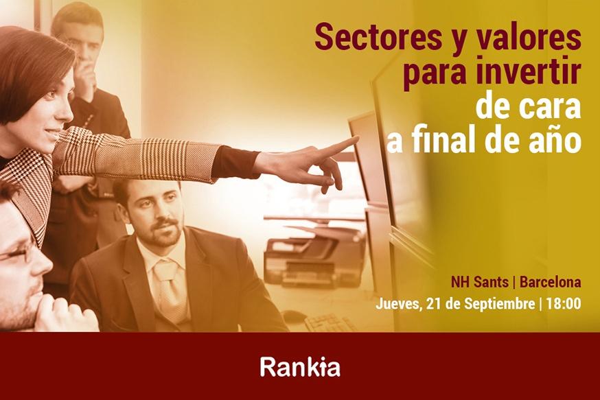 Rankia te invita a la Jornada de Trading con los sectores donde invertir - Rankia evento 1