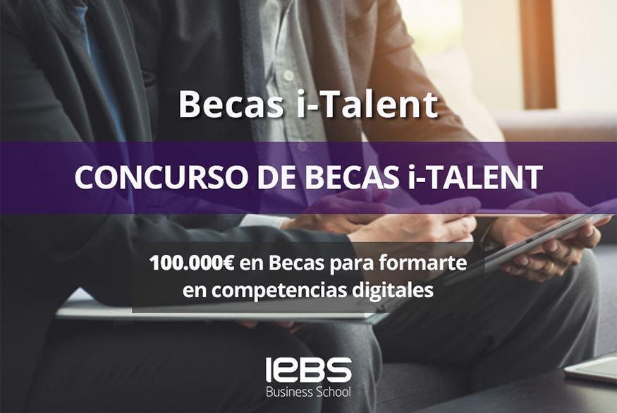 Consigue la especialización que te falta con las Becas i-Talent de IEBS y Axel Springer - becas italent875x584