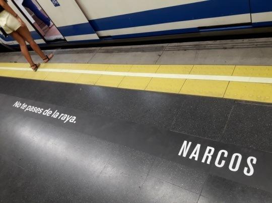 Campañas de Marketing de los protagonistas de la Revolución Digital - narcos no te pases de la raya 1