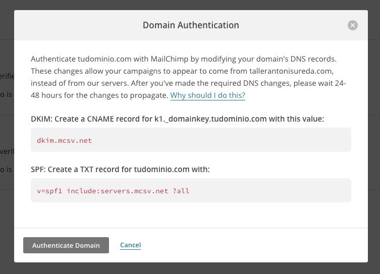 ¿Qué es MailChimp y cómo configurarlo en un dominio? - IMG4