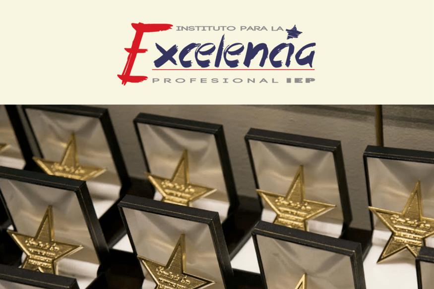 Recibimos el Galardón Estrella de Oro por parte del Instituto Para la Excelencia Profesional - SOLICITA LA AYUDA INNOVA
