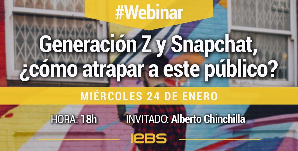 ¿Cómo utilizar Snapchat en tu estrategia de Comunicación Digital? - webinariebs24enero
