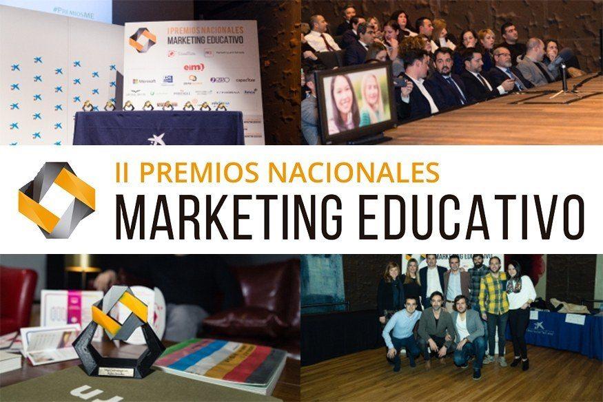 Regresan los II Premios Nacionales de Marketing Educativo - Untitled 1