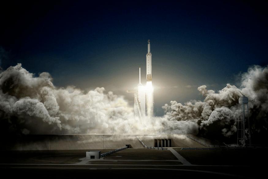 SpaceX supera a la NASA y lanza un Tesla al espacio - spacex