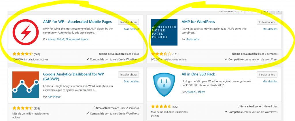 Cómo instalar, configurar e implementar AMP en Wordpress - AMP WORDPRESS 1024x420