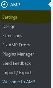 Cómo instalar, configurar e implementar AMP en Wordpress - amp 181x300