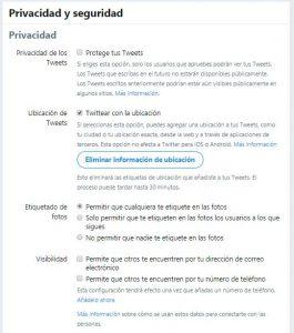 Qué son los Tweets protegidos y cómo ver un twitter privado - Proteger twitter 265x300