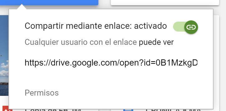 Trucos y consejos para aprovechar al máximo Google Drive - compartir enlace