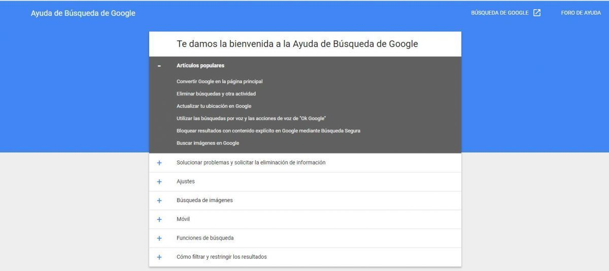 #DebateIEBS: El derecho al olvido: la pesadilla de la huella digital - Ayuda de búsquedas de Google
