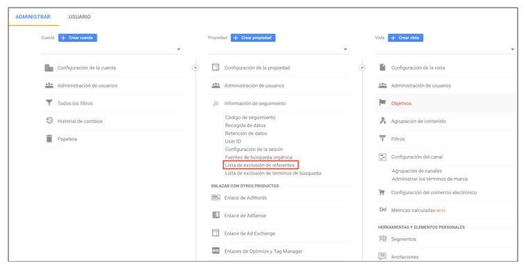 Cómo filtrar bots y spiders a través de google analytics - exclusión de referentes