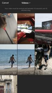 Qué es y cómo funciona IGTV, la nueva televisión de Instagram - Subir vídeo instagram galería 169x300