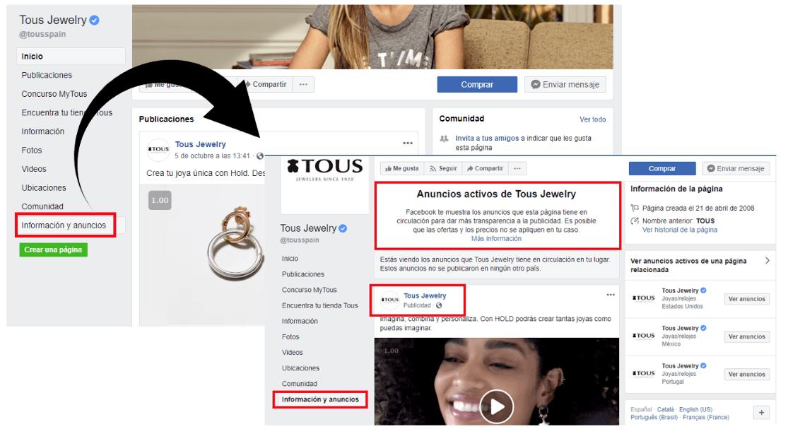 Cómo crear una campaña de Facebook eficaz desde cero - Anuncio FB 2