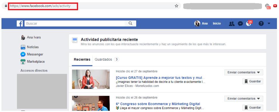 Cómo crear una campaña de Facebook eficaz desde cero - Anuncio FB 3