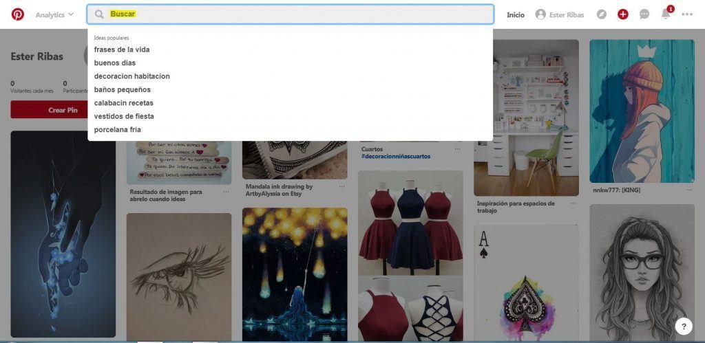 Qué beneficios puedes aportar Pinterest a las empresas - Buscar pinterest 1024x499