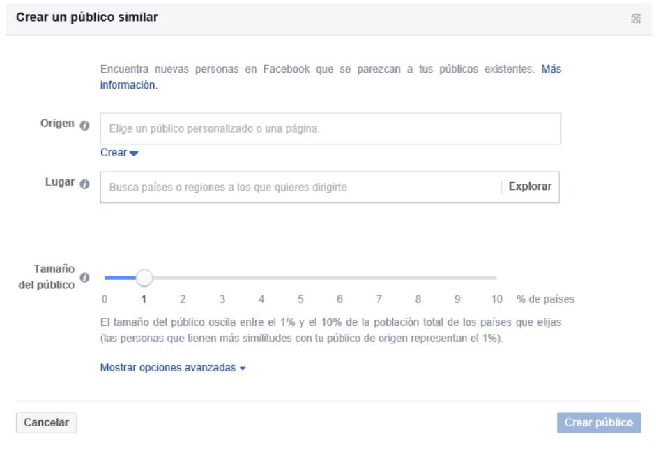 Cómo crear una campaña de Facebook eficaz desde cero - Creación de públicos FBAds
