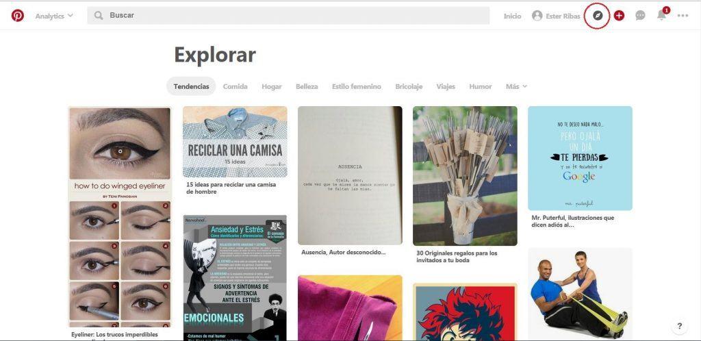 Qué beneficios puedes aportar Pinterest a las empresas - Explorar con Pinterest 1024x498
