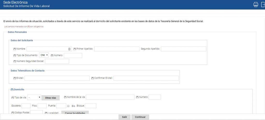 Qué es y cómo solicitar el informe de vida laboral - Solicitar informe de vida laboral sin certificado digital 1024x465