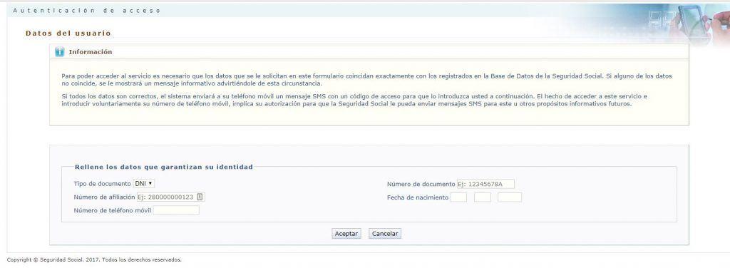Qué es y cómo solicitar el informe de vida laboral - Solicitar informe de vida laboral vía SMS 1024x376