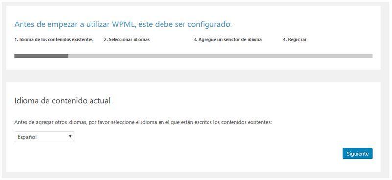Cómo internacionalizar un dominio con hreflang paso a paso - Instalando WML