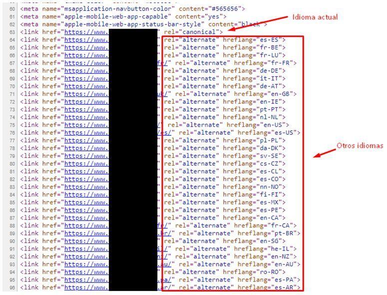 Cómo internacionalizar un dominio con hreflang paso a paso - hreflang CoDIGO  IDIOMA