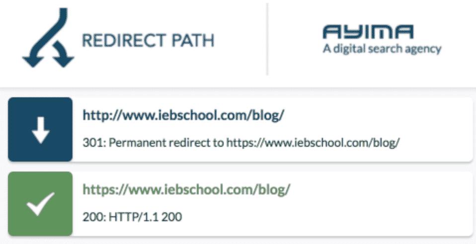 CHECKLIST: Cómo hacer una migración SEO y no morir en el intento - redirect path 1