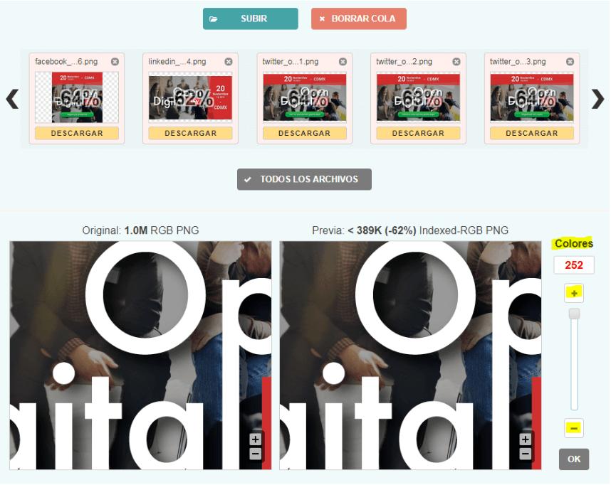 Cómo mejorar la velocidad de carga de imágenes en Wordpress - optimizar calidad