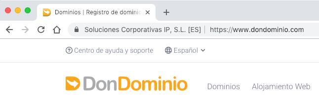 Cómo cambiar WordPress a HTTPS - IMG SSL DonDominio