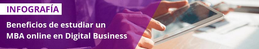 Las 6 salidas profesionales con más futuro de un MBA - Beneficios de formarse con un MBA online en Digital Business