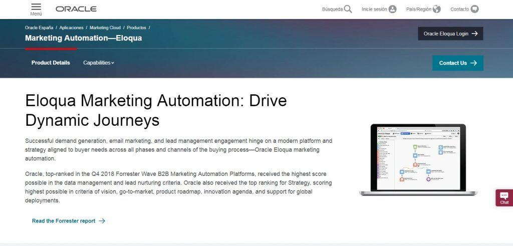 ¿Qué es el Marketing Automation o Automatización de Marketing? - eloqua 1024x491