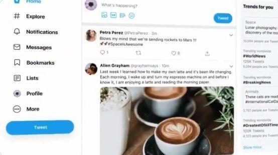 Todas las novedades del rediseño de Twitter en 2019 - novedad tw 1