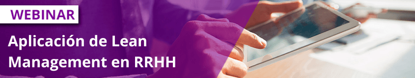 Eventos de Recursos Humanos en Noviembre - Aplicación de Lean Management en RRHH 1