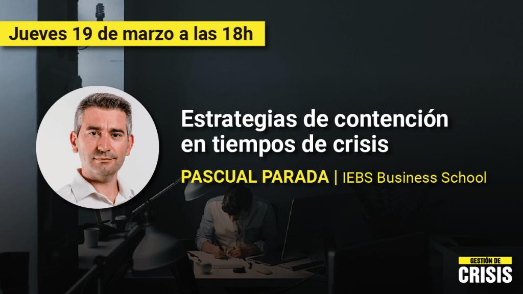 Gestión de Riesgo en Tiempos de Crisis: Un programa de Cursos Gratuitos para apoyar a las Empresas - EVGCSS20 RRSS Pascual Parada 1200x675 1024x576